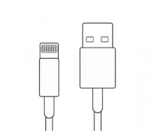 Кабель ks 01 Lightning - USB белый, 1м